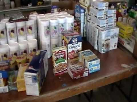 Snack Food Grocery Food Storage Auction May 14, 2011 Ozark MO