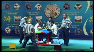 DISABLED MEN RIGHT 75KG   URHUN, YASIN TURKEY 3509 vs CIRIK, MURAT TURKEY 3503