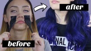 how i dye my hair lol 🦄