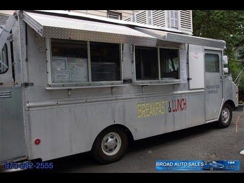 1994 GMC P3500 Aluminum Body Step Van Lunch Truck - YouTube