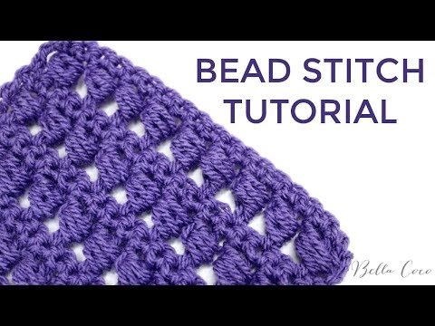 CROCHET: BEAD STITCH | Bella Coco Crochet