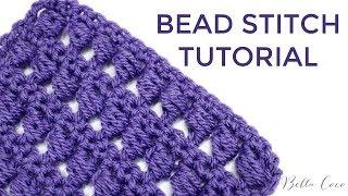 CROCHET: BEAD STITCH   Bella Coco Crochet