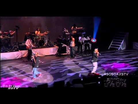 Da Brat at the So So Def 20th Anniversary Concert