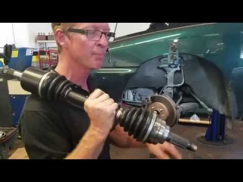 2002 mitsubishi lancer Left Front CV Axle replacement