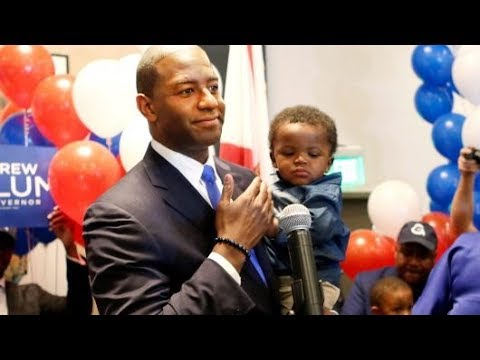 Bernie Backed Candidate Andrew Gillum Wins Dem Primary For Florida Governor