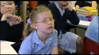 teachers tv primary talk and success criteria
