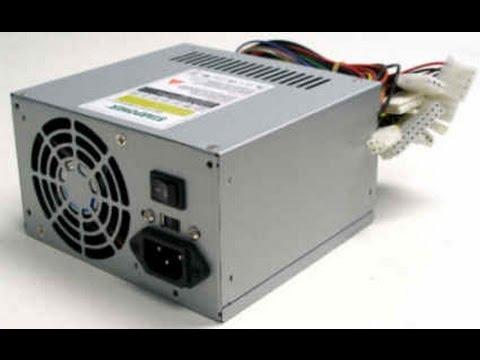 Ремонт ATX  блока питания после включения кнопки 115 вольт в сеть 220