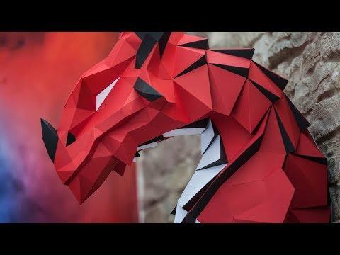Dragon Papercraft - DIY Assembly