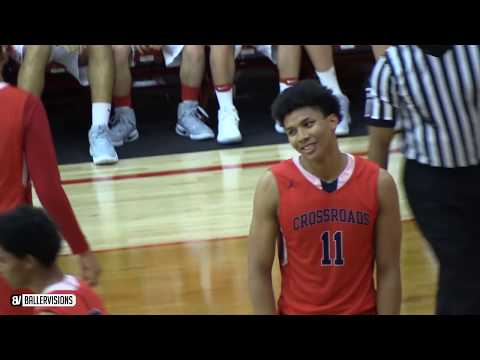 Shareef O'Neal VS Bol Bol PLAYOFF BATTLE! Mater Dei DESTROYS Crossroads in First Round FULL RECAP!