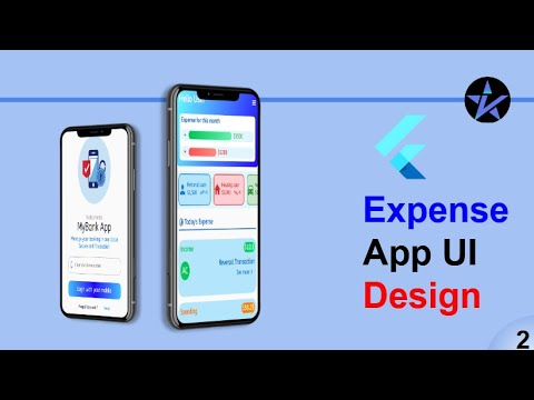 Expense Management App - Flutter Tutorial - Flutter UI Template - Part-2