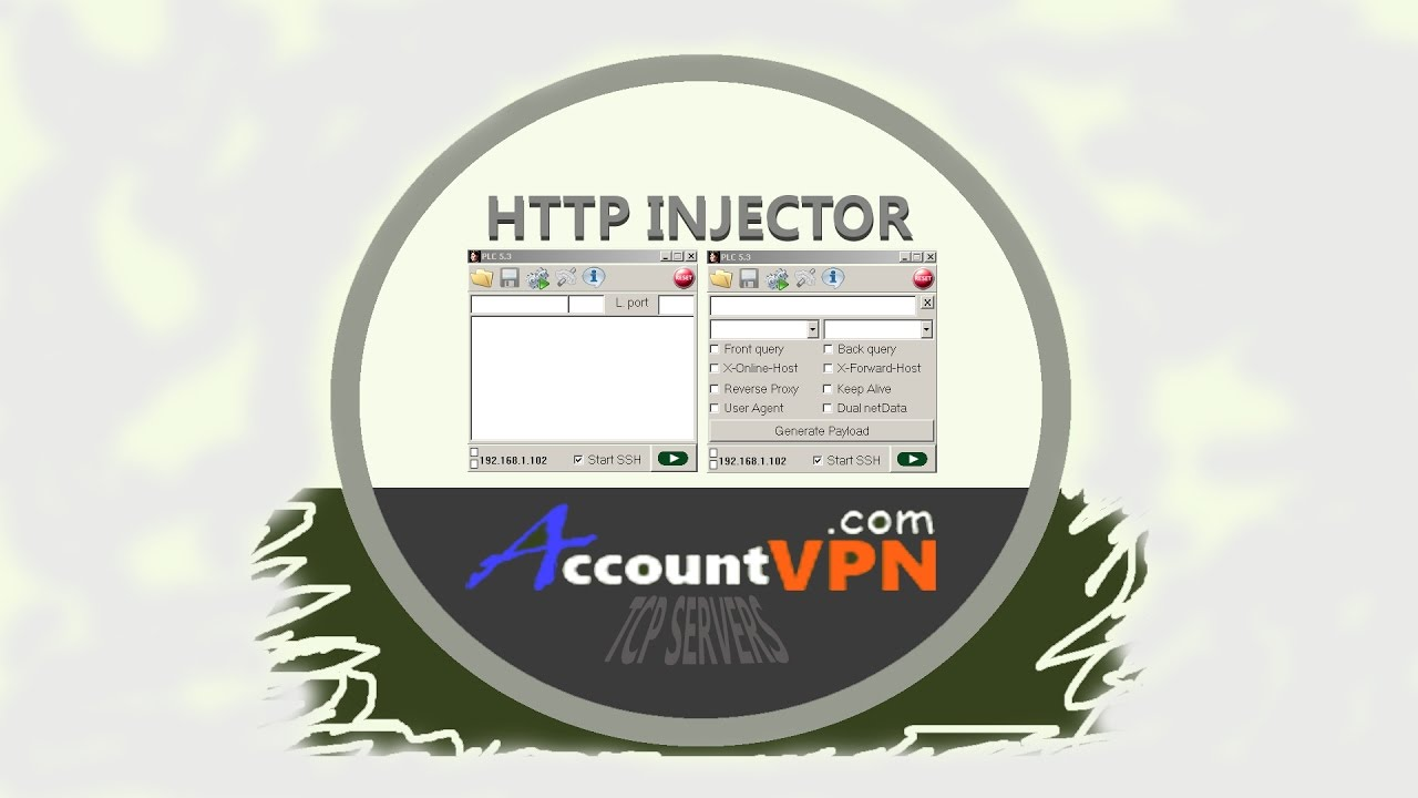 Combination of OpenVPN Config file & PLC HTTP Proxy App (PC Version)