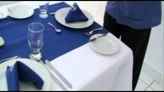 Clase Maestra   Montaje de mesa Restaurante   INCAP   La vía del progreso