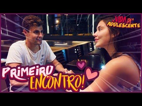 PRIMEIRO ENCONTRO! - VIDA DE ADOLESCENTE #37 [ REZENDE EVIL ]