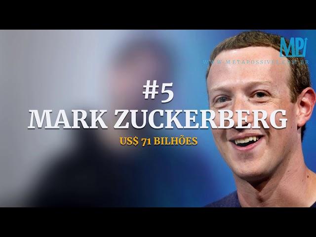 Os 10 Homens Mais Ricos e Poderosos Do Mundo! O Que Aprender Com Eles Sobre Ganhar Dinheiro