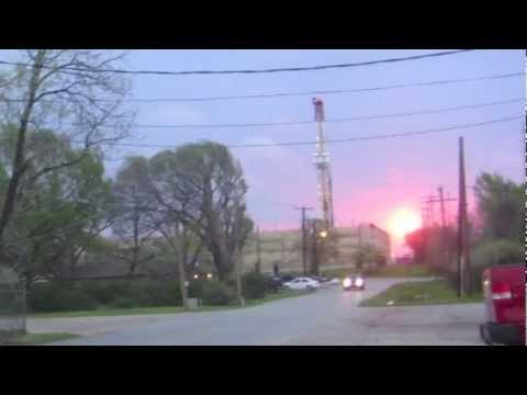 Visit Industrialized Arlington TX Cowboys Stadium URBAN Fracking BenZene