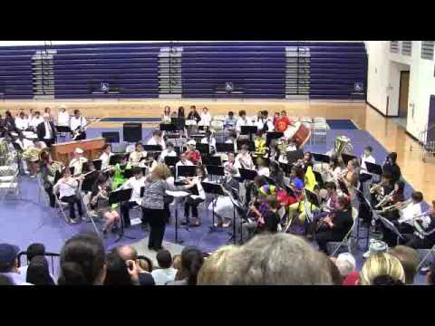 10-22-13 Hornedo Middle School Band Halloween Concert 2