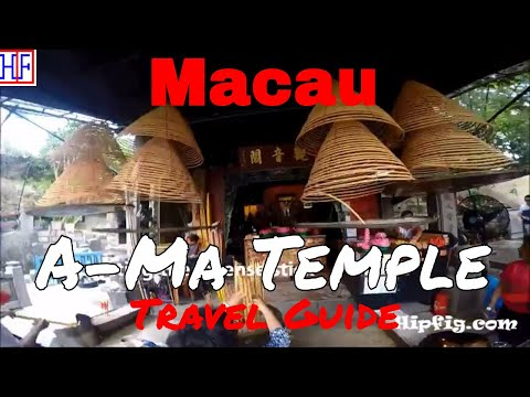 Macau Attraction | A-Ma Temple | TRAVEL GUIDE | Ep# 4
