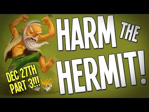 """HARM THE HERMIT"" Interactive Livestream!!! - Dec 27th! Part 3 of 3 ;-)"