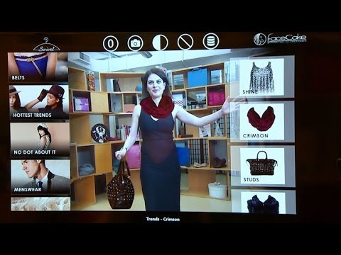 New Technology Lets You Try on Virtual Clothes Before You Buy - YouTube b5295e7e45f