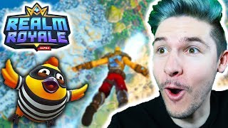 IS THIS GAME THE NEW FORTNITE BATTLE ROYALE!? (Realm Royale)