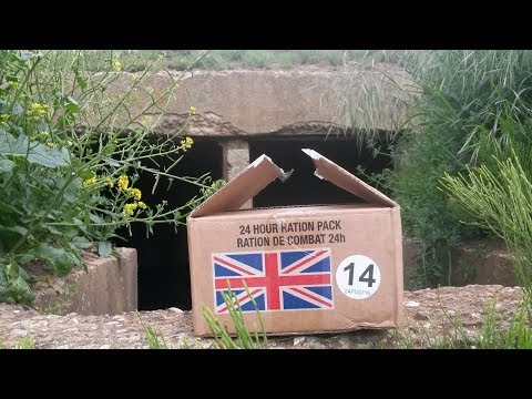 British Army 24 Hour Operational Ration Pack