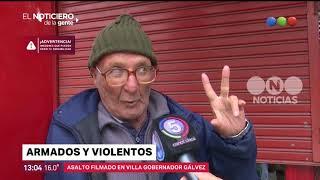 Violento asalto en un comercio de Villa Gobernador Gálvez –El Noticiero de la Gente