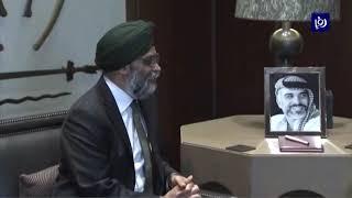 بحث آليات تعزيز التعاون العسكري بين الأردن وكندا (22-4-2019)