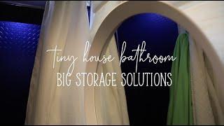 Tiny House 3 Bedroom 2 Bathroom: Guest Bathroom Tour