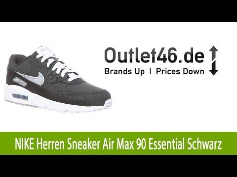 toller-nike-herren-sneaker-air-max-90-essential-schwarz-l-outlet46.de