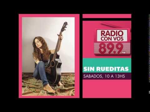 Daniela Herrero en Sin rueditas - Radio Con vos 89.9 FM
