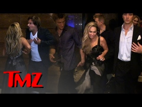 Celebrity Couple Fight With Adrienne Maloof and BF Sean Stuart!  TMZ