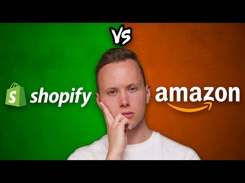 Shopify vs. Amazon FBA in 2020 - Which One Is Better? thumbnail
