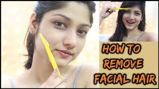 HOW TO SHAVE YOUR FACE AT HOME | Demo, Do's and Don'ts | Manasi Mau