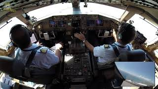 Air Austral Boeing 777-300ER Cockpit Takeoff, MUST SEE! [AirClips]