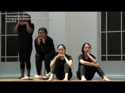 """""""Changing Eyes"""", an interdisciplinary collaboration with National Gallery Singapore"""