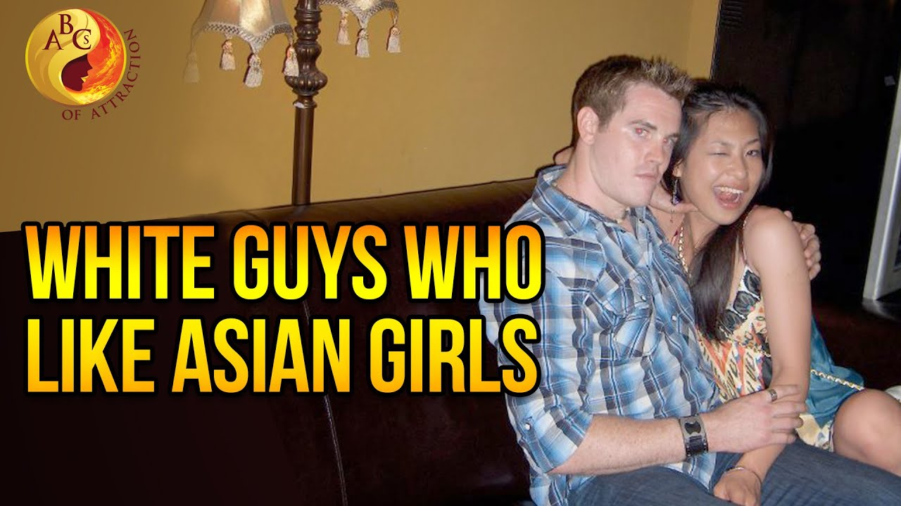 White guy on asian girl