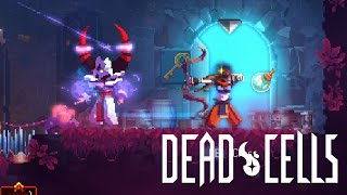 Dead Cells - Infantry Bow and Fire Grenade showcase run (5 boss cells active)