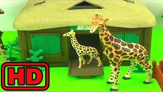Kid -Kids -Animal Planet Zoo Animals Rescue/Lot of Schleich Wild Animals/Bugs And Insects On PlayDo