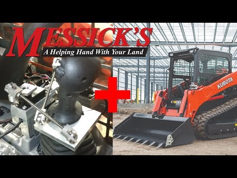 Modified Kubota Track Loader With Complete Foot Control