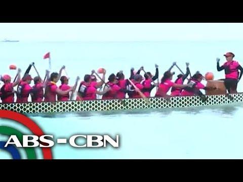 Int'l Dragon Boat Festival, idinaos sa Boracay