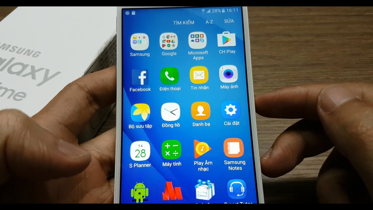 BacBa – Samsung Galaxy J5 Prime  Chuyển dữ liệu từ máy sang thẻ nhớ (move data sd card)