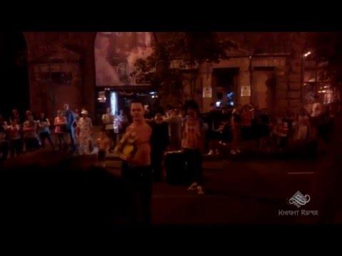 Уличные танцы, Киев, Вечерний Крещатик часть 3 - Street Dance, Kiev, Khreshchatyk Evening part 3