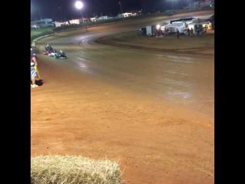 Tri County Racetrack Go-Cart Race 8-27-16