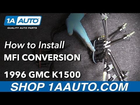 How to Install Multiport Fuel Injection Conversion 96-99 GMC K1500