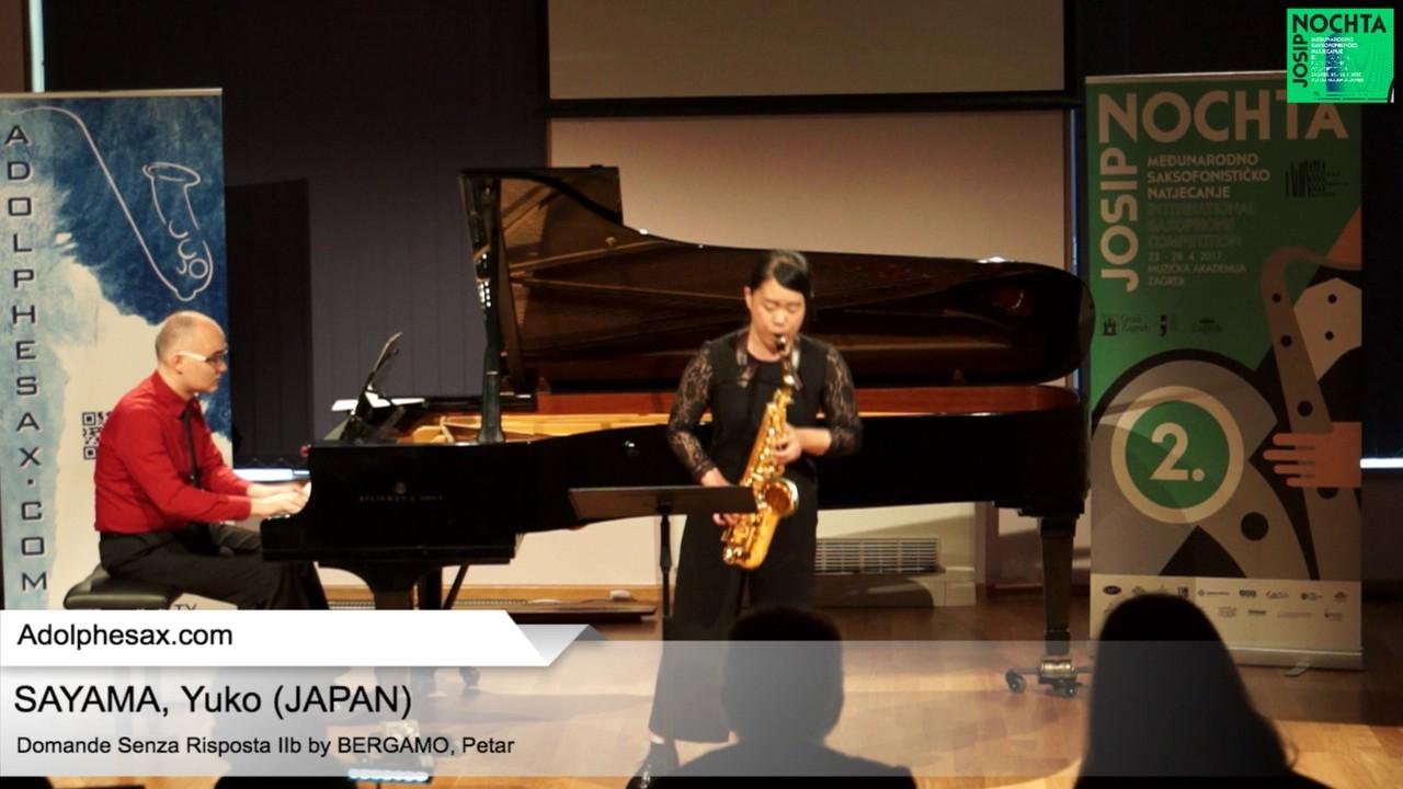 Domande senza risposta IIb by Petar Bergamo – SAYAMA, Yuko (Japan)
