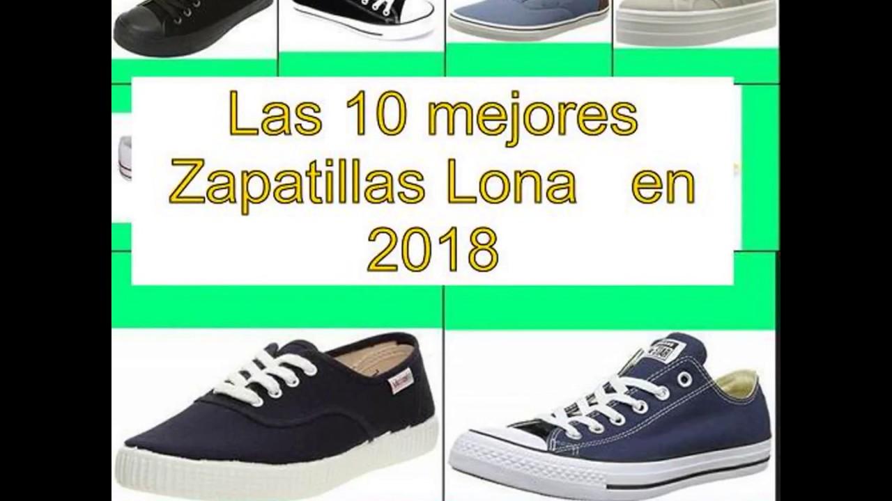 Zapatillas 2018 Mejores En Las Youtube 10 Lona Enp0XHq
