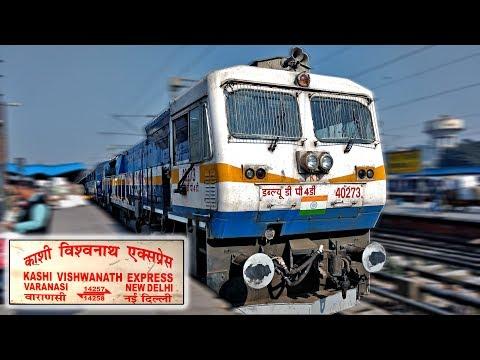 NEW DELHI to BAREILLY : Train Journey Highlights (Indian Railways)