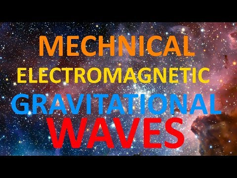 Mechanical waves  Electromagneti waves  Gravitational waves explained