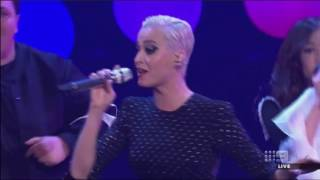 katy perry- chained to the rhythm (LIVE: The Voice AU)