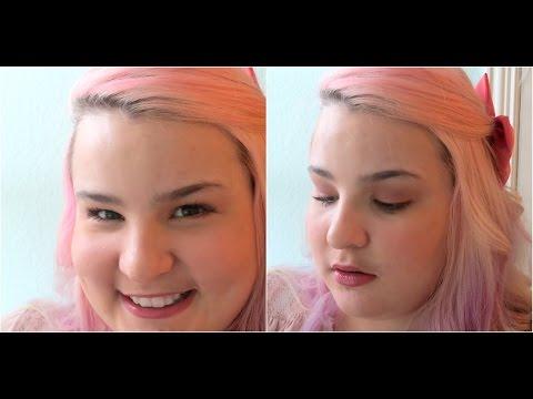 Soft Romantic Fall Makeup | Falling in Love | 7BearSarah